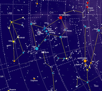 Sky Map poster published by Geobook