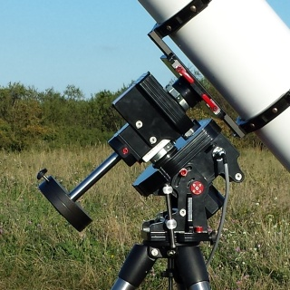 Stabi mount: Precise and portable telescope mount