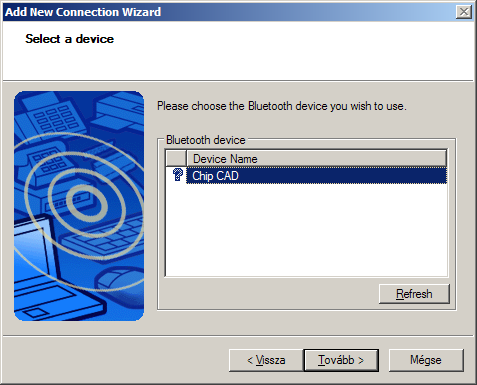 Detect Bluetooth device and install driver software